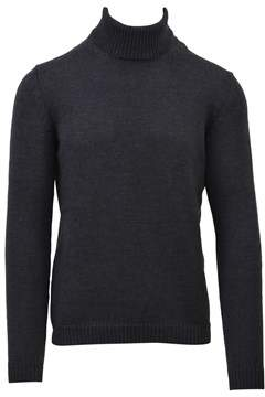 Roberto Collina Men's Grey Wool Sweater.