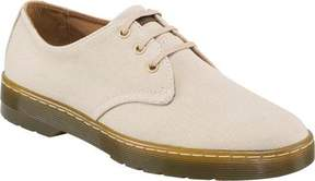 Dr. Martens Men's Delray 3 Eye Shoe Sand Overdyed Twill Canvas Size 11 M