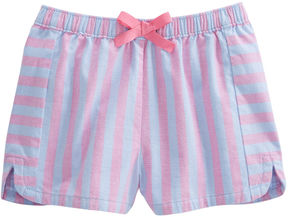 Vineyard Vines Girls Coastside Stripe Pull-On Shorts