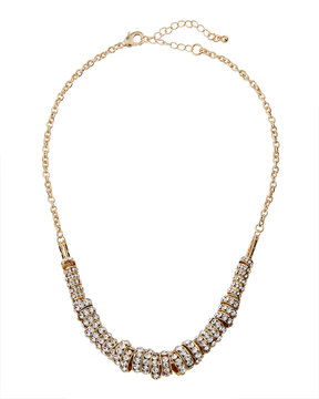 Fragments for Neiman Marcus Pave Crystal Ring Necklace