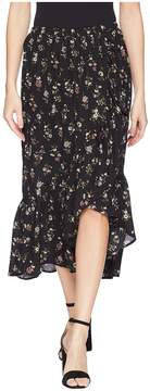 Bobeau B Collection by Emer Wrap Ruffle Skirt Women's Skirt