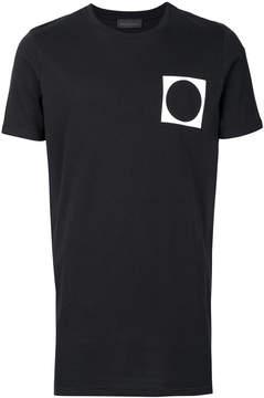 Diesel Black Gold circle print T-shirt