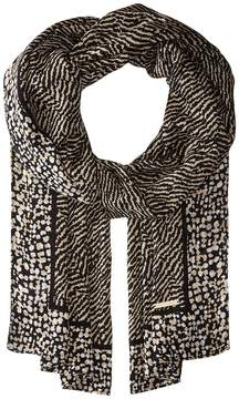 MICHAEL Michael Kors Reptile Print Oblong Scarf Scarves