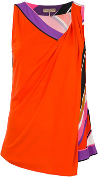 Emilio Pucci layered printed T-shirt