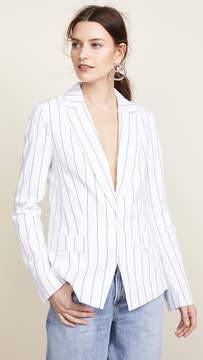 Dion Lee Poplin Shirt Blazer