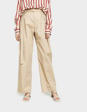 CHRISTOPHER ESBER Multi Tuck Chino Pant