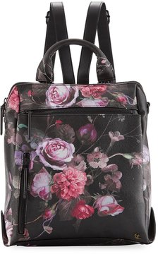Elliott Lucca Olvera Floral-Printed Tall Backpack