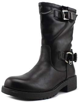 Coolway Brook Women Round Toe Synthetic Combat Boot.