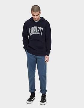 Carhartt Wip Hooded Division Sweatshirt in Dark Navy / Multicol