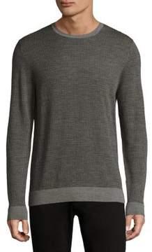 Michael Kors Houndstooth Wool Sweatshirt