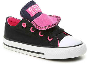 Converse Girls Chuck Taylor All Star Double Tongue Toddler Sneaker