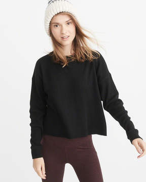 Abercrombie & Fitch Long-Sleeve Waffle Tee