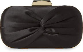 La Regale Black Twist Convertible Clutch
