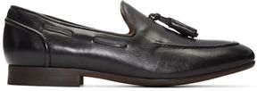 H By Hudson Black Pierre Loafers