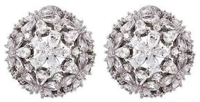 Fallon Monarch Florette Button Earrings