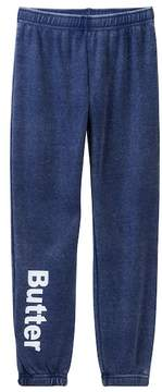 Butter Shoes Super Soft Burnout Fleece Pant (Little Girls)