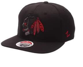 Zephyr Adult Chicago Blackhawks Twilight Snapback Cap