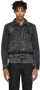 Saint Laurent Black Denim Shadow Jacket