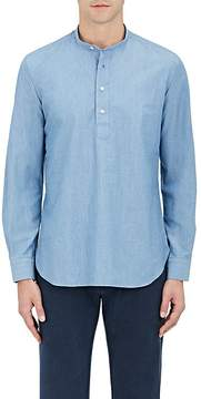 Caruso Men's Cotton Chambray Shirt