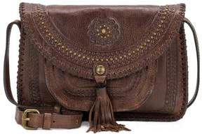 Patricia Nash Distressed Vintage Collection Beaumont Tasseled Cross-Body Bag