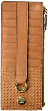 Lodis Sunset Boulevard Credit Card Case with Zipper Pocket
