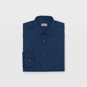 Club Monaco Slim Geo Dot Dress Shirt