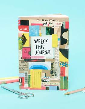 Books Wreck This Journal Book