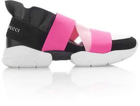 Emilio Pucci Ruffled Sneakers