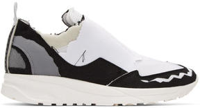 Maison Margiela White Destroyed Sneakers