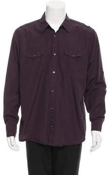 Calvin Klein Collection Utility Button-Up Shirt