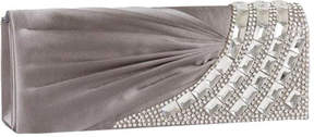 J. Furmani Women's 27569 Flap Clutch with Stones