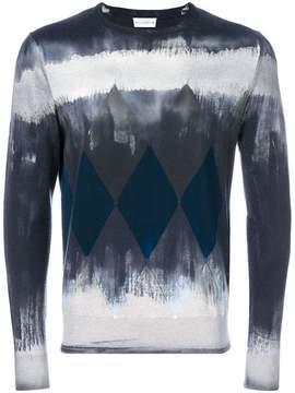 Ballantyne geometric graphic print sweater