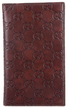 Gucci Guccissima Travel Wallet - BROWN - STYLE