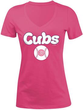 5th & Ocean Chicago Cubs Retro Inspo T-Shirt, Girls (4-16)
