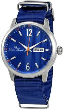 Lucien Piccard Milanese Blue Dial Men's Watch