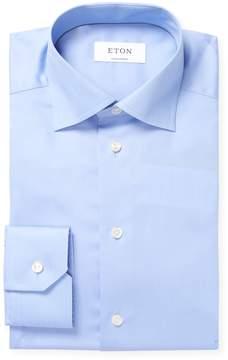 Eton Men's Solid Cotton Dress Shirt