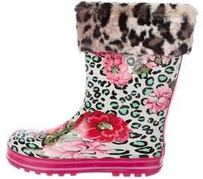 Kenzo Mid-Calf Rain Boots