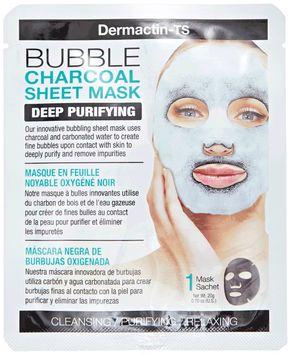 Dermactin-TS Charcoal Bubble Face Mask