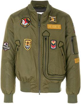 Peuterey padded bomber jacket