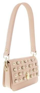 Roberto Cavalli Milano Bag Medium Milano Rmx 0 Nude Shoulder Bag.
