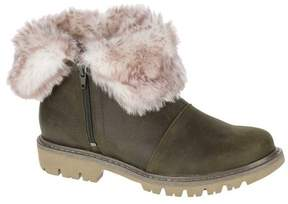 Caterpillar Women's Flurry Fur Waterproof Bootie