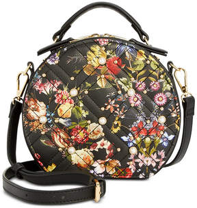 INC International Concepts I.n.c. Rilie Floral Circle Top-Handle Crossbody, Created for Macy's