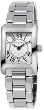 Frederique Constant Carree Stainless Steel Bracelet Watch