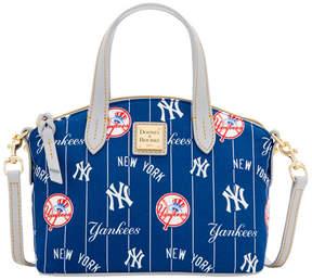 Dooney & Bourke New York Yankees Nylon Mini Crossbody Satchel - NAVY/GRAY - STYLE