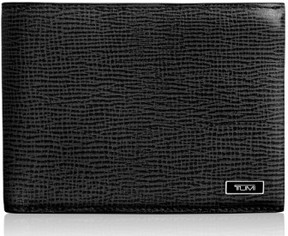 Tumi Men's 'Monaco' Double Billfold Leather Wallet - Black