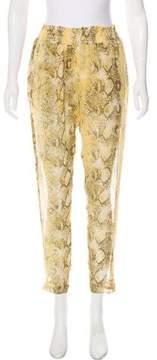 Enza Costa Printed Skinny Pants