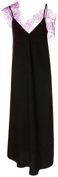 Ellery Boorzhwah Satin and Lace Slip Dress