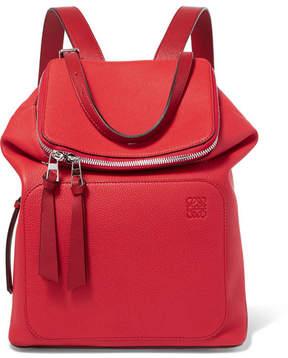 Loewe Goya Small Textured-leather Backpack