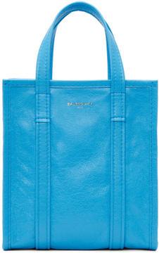 Balenciaga Blue Bazar Shopper XS AJ Tote