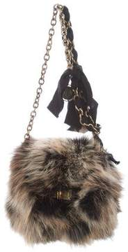 Lanvin Mini Pop Happy Fox Shoulder Bag